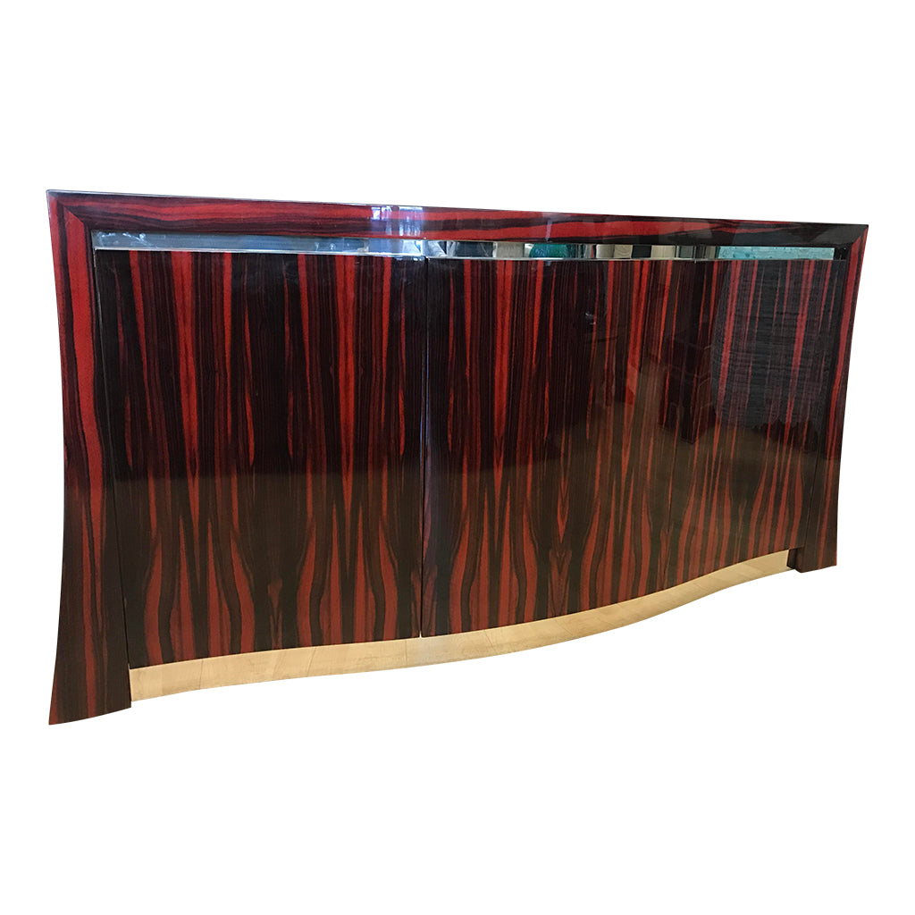 High End Buffet Cabinet Macassar Ebony Buffet