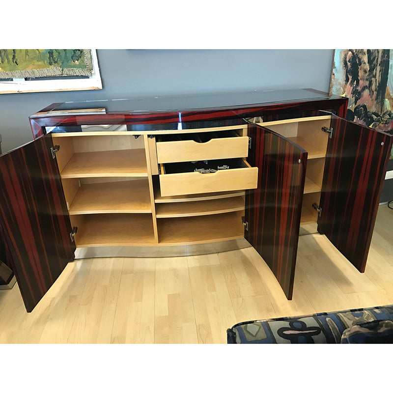 high end Macassar Ebony Buffet , Modern high end buffet,