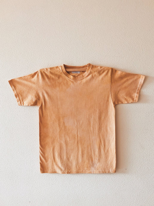 Ultimate Crew Neck Tee Dyed Naturally