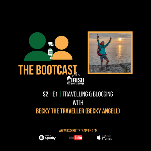 The Bootcast - SE2 - Episode #1 - Travelling & Blogging with Becky Angell (Becky The Traveller)