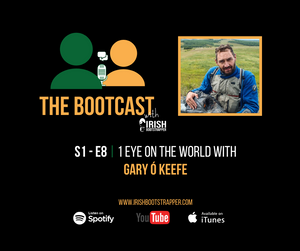 The Bootcast Episode #8 - 1 Eye On The World with Gary Ó Keeffe