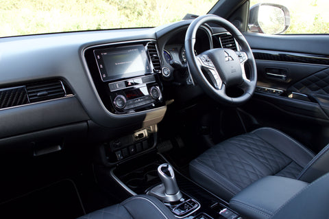 Interior and Dash | Mitsubishi Outlander PHEV