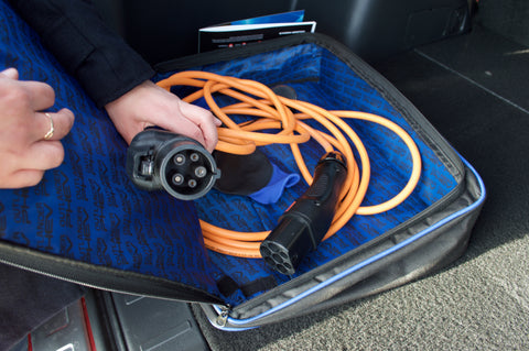 Charging pack in boot | Mitsubishi Outlander PHEV
