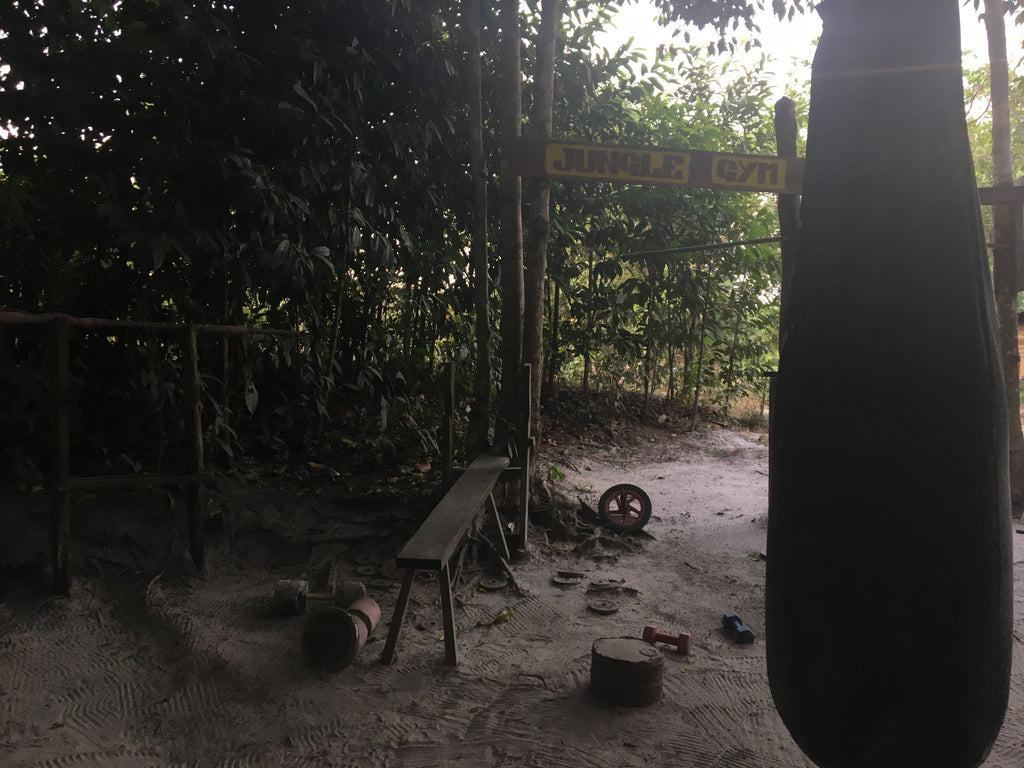 Gym at Mad Monkey resort Koh Rong Sanloem, Cambodia - Irish Bootstrapper