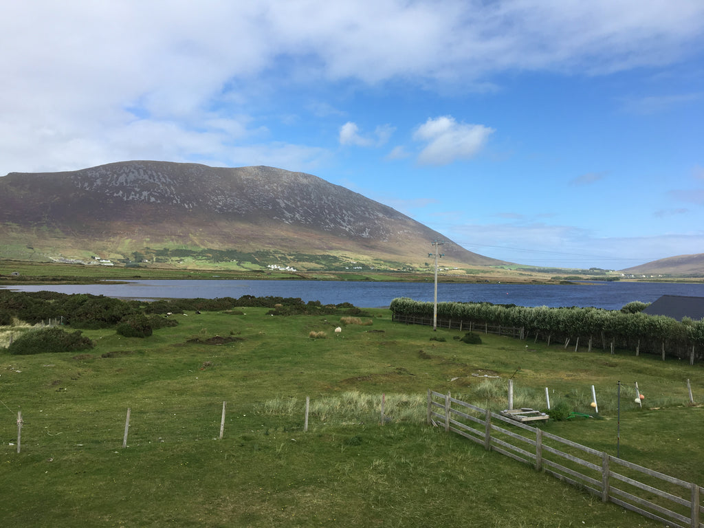 Quest Achill 2018 - View from Accommodation - Irish Bootstrapper