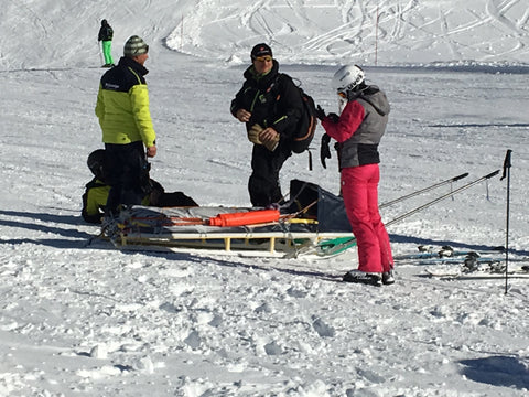 Skiing - Ski school casualty - Irish Bootstrapper