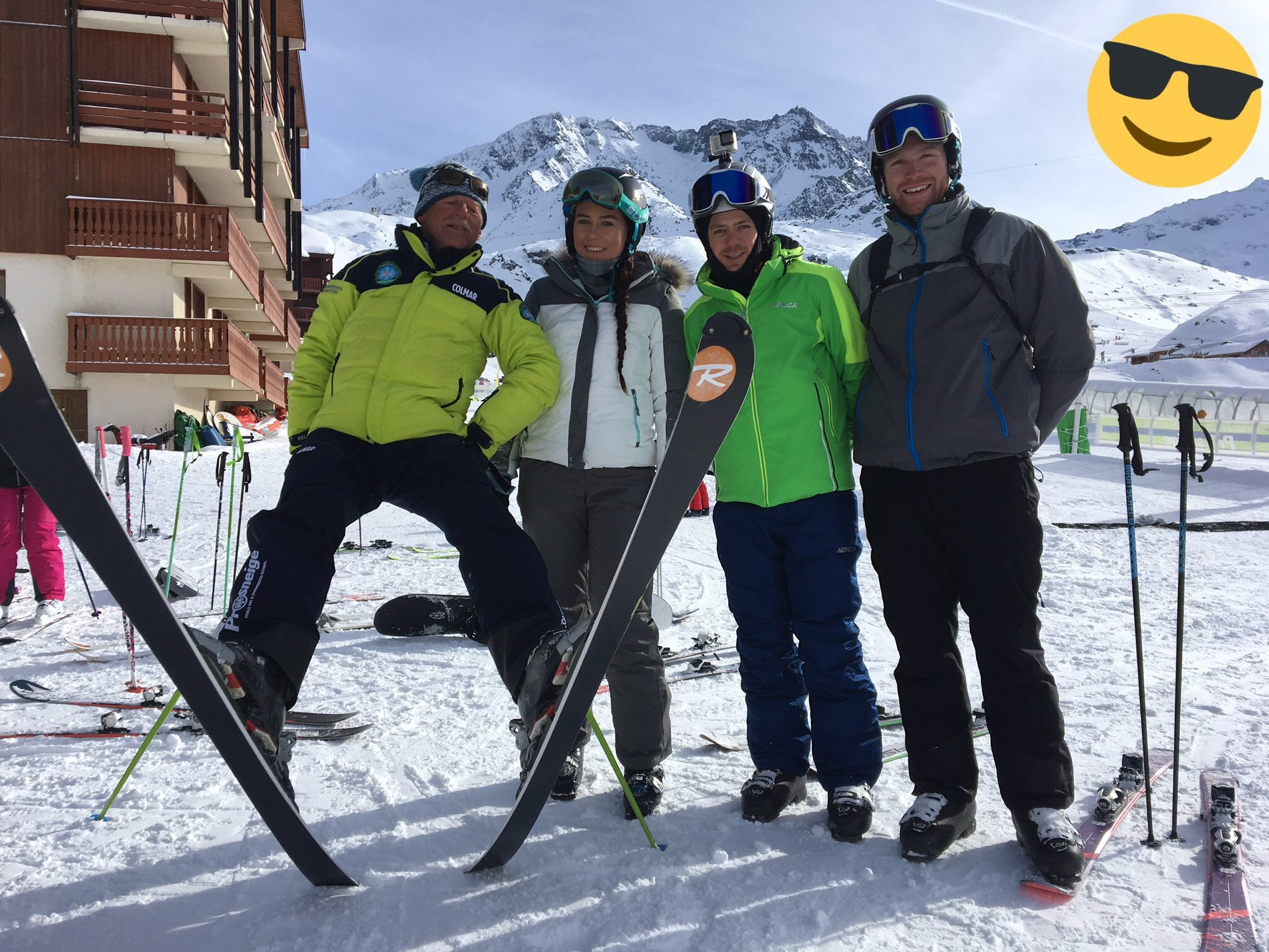 Prosneige - Ski school - Classe 1 - Graduation day