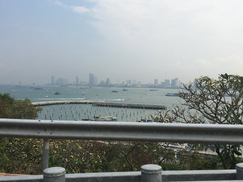 Pattaya City from Buddha Hill view point - Irish Bootstrapper