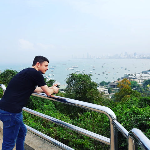 Overlooking Pattaya - Irish Bootstrapper