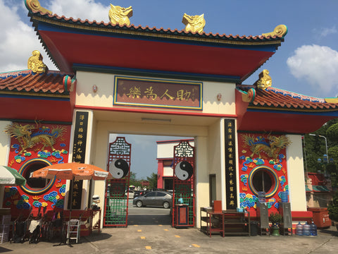 Temple Entrance (near Buddha Mountain) - Irish Bootstrapper