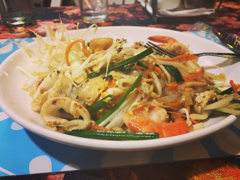 First Thai Food - Pad Thai Seafood - Irish Bootstrapper