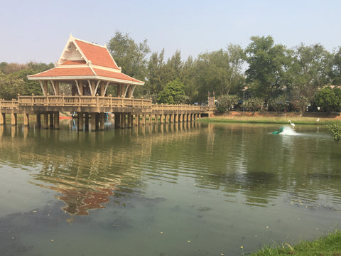 Lake at Phimai - Irish Bootstrapper