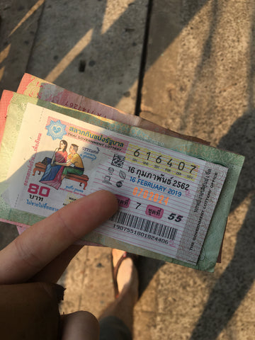 Thai Lotto Ticket - Irish Bootstrapper