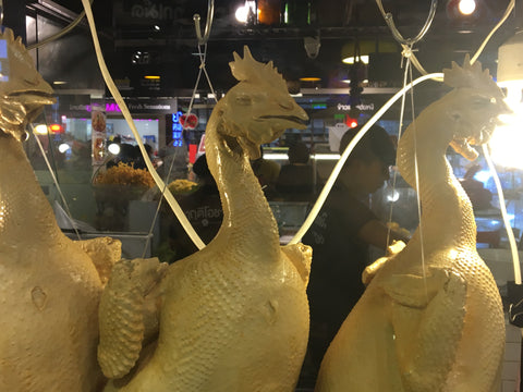 Plastic Chickens in Maya Mall - Irish Bootstrapper