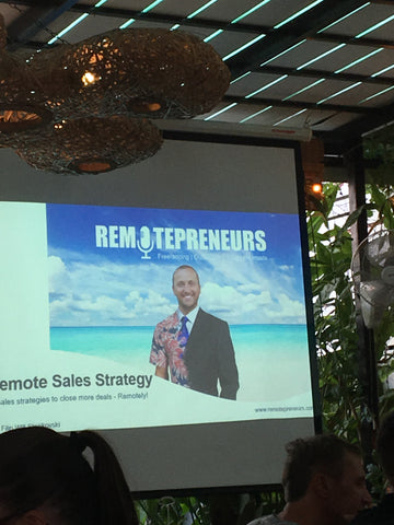 Filip Remotepreneurs Keynote - Food4Thought Chiang Mai - Irish Bootstrapper