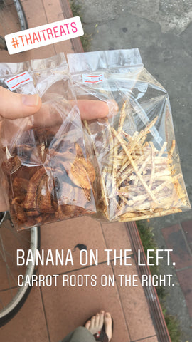 Banana and Carrot dried snacks Chiang Mai - Irish Bootstrapper