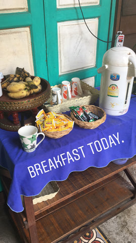 Pai Hostel Breakfast - Irish Bootstrapper