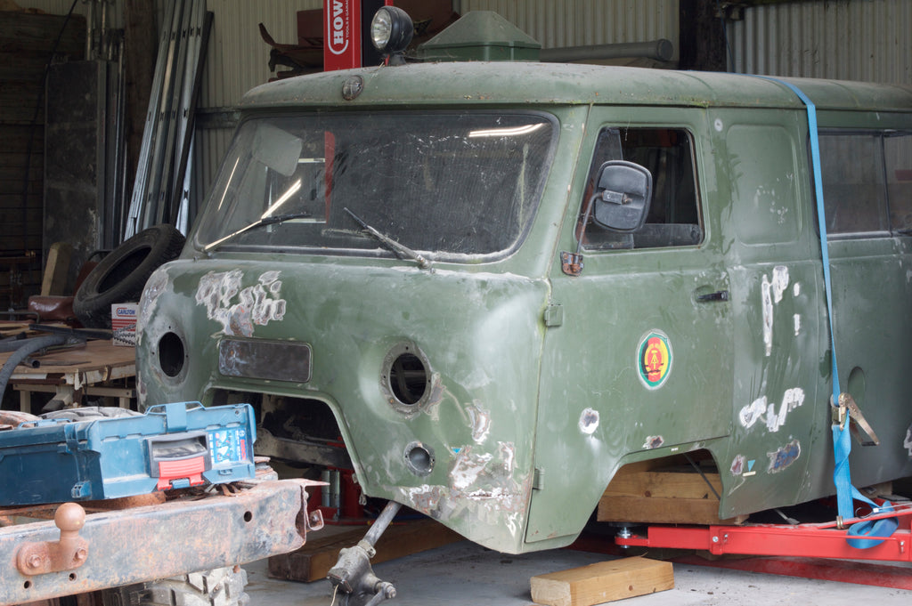 The Baikal Project - PREP - The UAZ 1