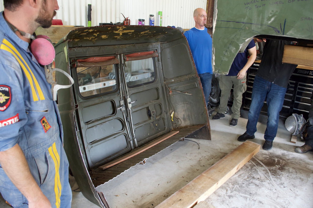 The UAZ - Backdoor Panels CHOP