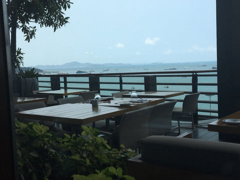 Hilton Pattaya - View of Bay - Irish Bootstrapper