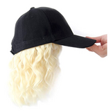 Stay Ready Baseball Cap BOB BLONDE Wig