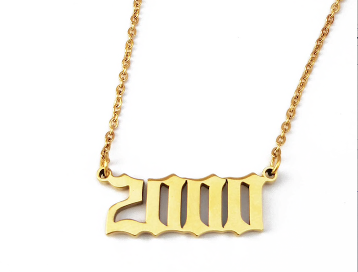 Year to Date Necklace Gold