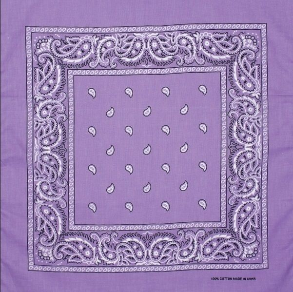 MULTI COLORS BANDANA - Glamazontay Apparel Studio