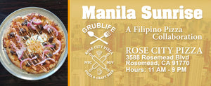 Rose City Pizza Grublife Collaboration Banner