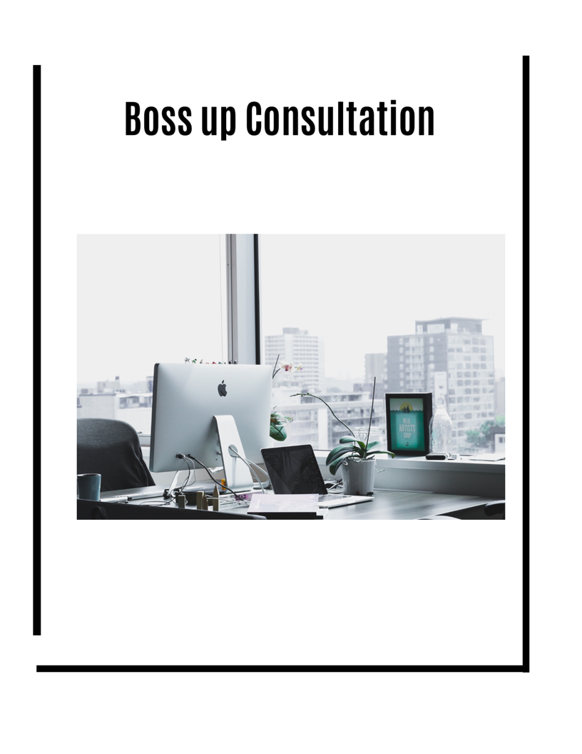 Boss Up Consultation