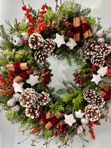 Leigh Christmas Wreath