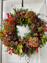Load image into Gallery viewer, King's Christmas Wreath