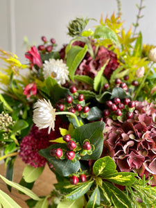 Gathered Autumnal Bouquet