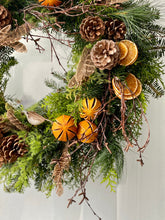 Load image into Gallery viewer, Dean Christmas Wreath