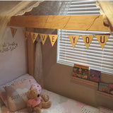Bunting letters (wood)