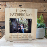 Fathers Day standing frame