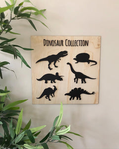 Dinosaur Collection plaque