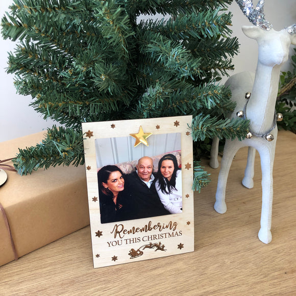 Fridge Frame (remembering you this Christmas)
