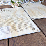 Vow wall hangings