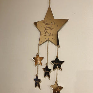 Little stars hanging mobile