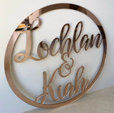 Hoop Sign CUSTOM
