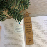 Bamboo bookmark