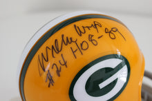 Willie Wood Mini Helmet - HOF W HOF 89