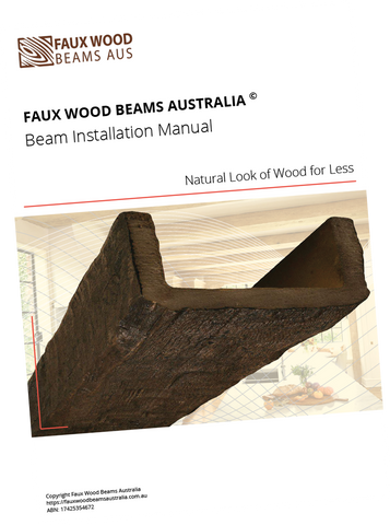 Faux Wood Beams Installation Manual