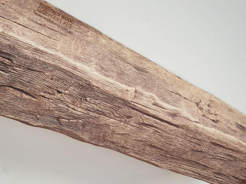 Faux Wood Beam on Ceiling - Roble Oak Heritage Grain