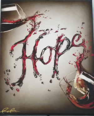 Hope wine giclee print