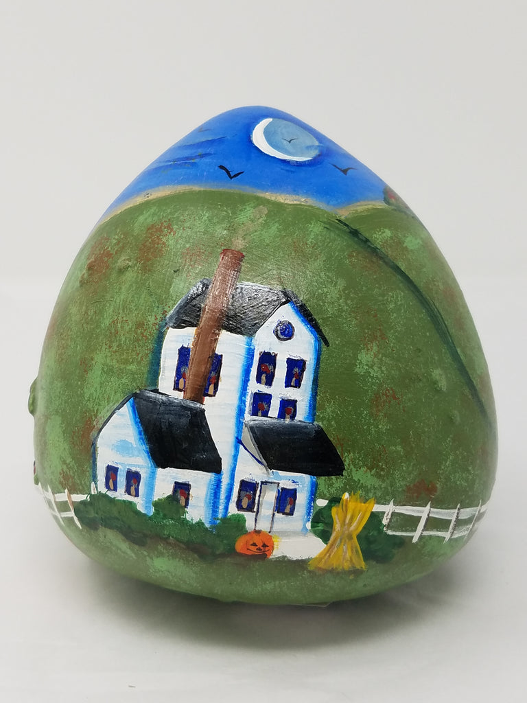 Village painted gourd