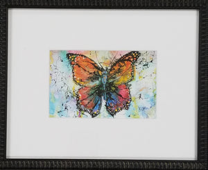 Framed art print of butterfly