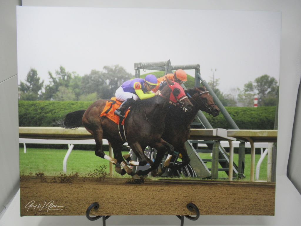 Two Horses Racing at Keenland