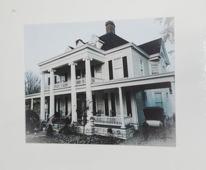Kavanaugh House photo matted in white, signed