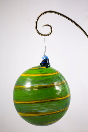 Hand Blown Glass Ornaments by Chad Balster